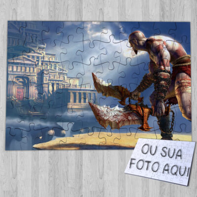 Puzzle God of War comprar em portugal