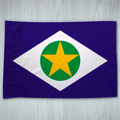 Bandeira Mato Grosso ou personalizada com sua imagem