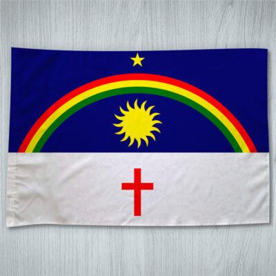 Bandeira Pernambuco ou personalizada com sua imagem