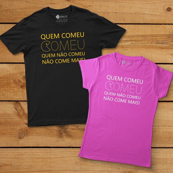 T-shirt Quem Comeu Comeu... despedidas de solteiro