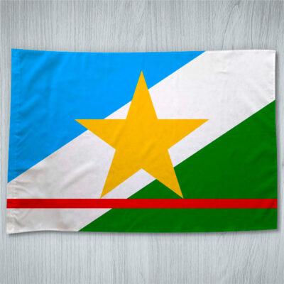 Bandeira Roraima ou personalizada com sua logo empresa