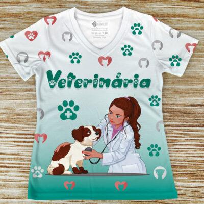 T-shirt Veterinária profissão/curso comprar em portugal