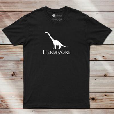 T-shirt Herbivore Dinosaur Vegan Homem/Mulher/Criança