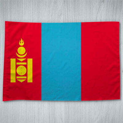 Bandeira Mongólia ou personalizada em portugal
