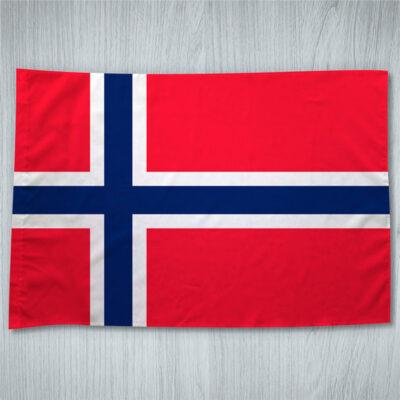 Bandeira Noruega ou personalizada 70x100cm comprar em portugal