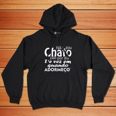 Sweatshirt com capuz Não sou chato(a) 24h por dia comprar em portugal