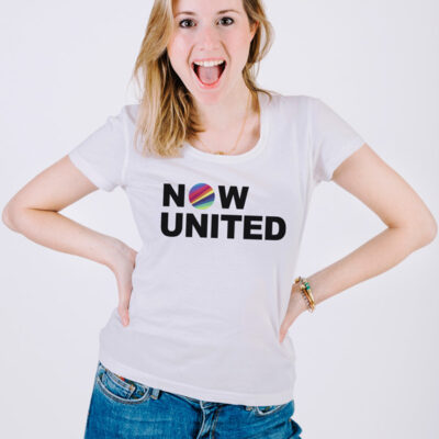 T-shirt Now United para mulher