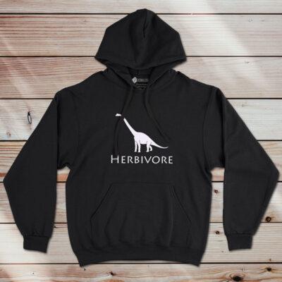 Sweatshirt com capuz Herbivore Dinosaur Vegan comprar em portugal
