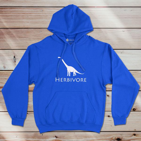 Sweatshirt com capuz Herbivore Dinosaur Vegan preço