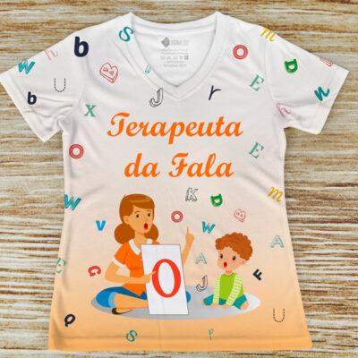 T-shirt Terapeuta da Fala profissão/curso em portugal