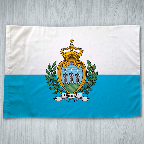 Bandeira San Marino ou personalizada 70x100cm comprar em portugal