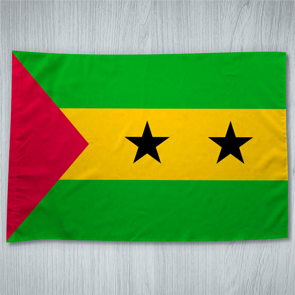 Bandeira São Tomé e Príncipe ou personalizada 70x100cm comprar em portugal