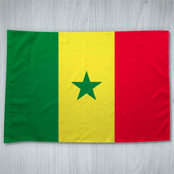 Bandeira Senegal ou personalizada 70x100cm comprar em portugal