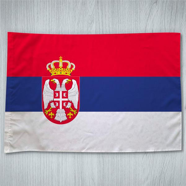 Bandeira Sérvia ou personalizada 70x100cm comprar em portugal