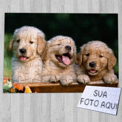 Puzzle personalizado com foto do seu animal de estimação comprar em portugal