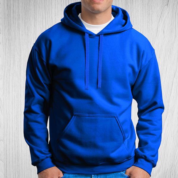 Sweatshirt com capuz Unisex Adulto 280-290g azul