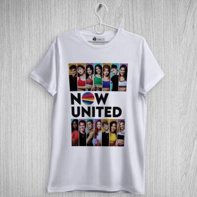 T-shirt grupo Now United comprar camiseta