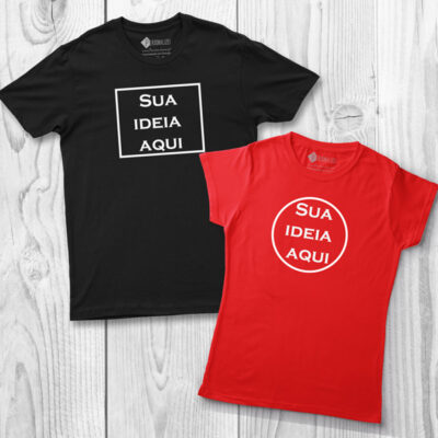 T-shirt personalizada com vinil flex - Homem Mulher e Criança comprar em portugal