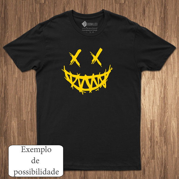 T-shirt personalizada com vinil flex - Homem Mulher e Criança comprar