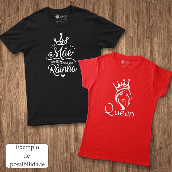 T-shirt personalizada com vinil flex - Homem Mulher e Criança personalizar camiseta