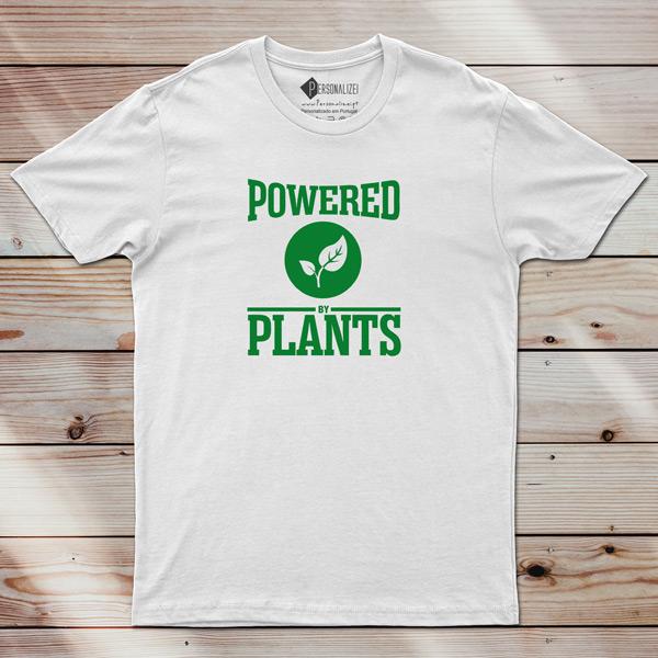 T-shirt Powered By Plants Homem/Mulher/Criança comprar em portugal