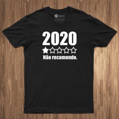 T-shirt 2020 não recomendo comprar em portugal