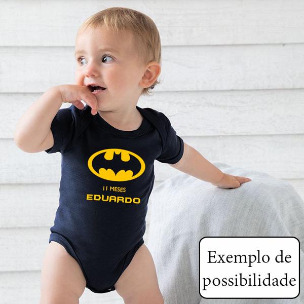 Body bebé personalizado com vinil flex para bebé