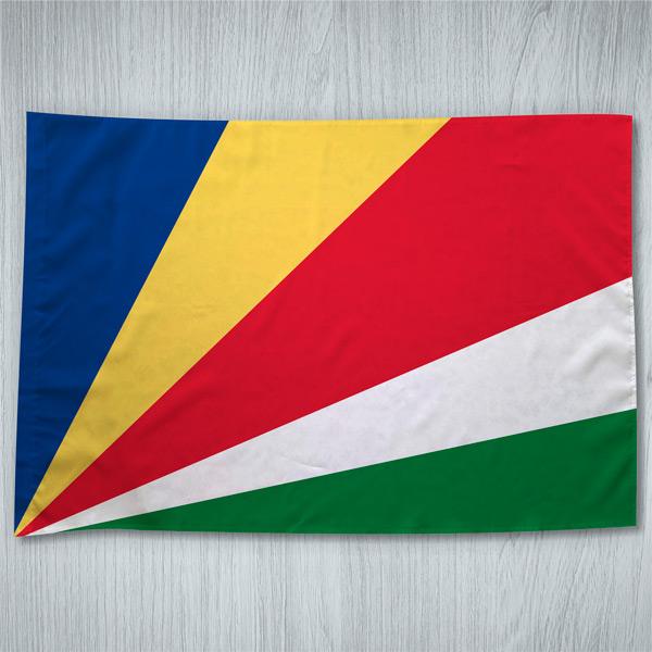 Bandeira Seicheles ou personalizada 70x100cm Comprar em portugal