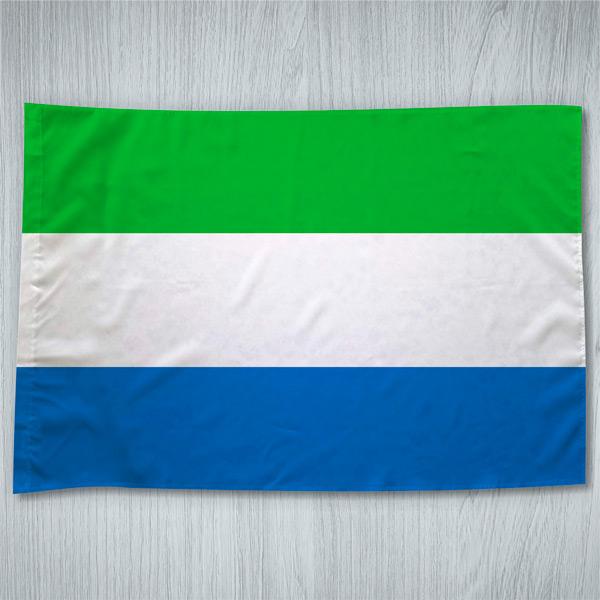 Bandeira Serra Leoa ou personalizada 70x100cm comprar