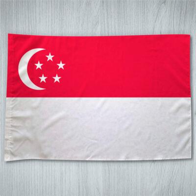 Bandeira Singapura ou personalizada 70x100cm comprar