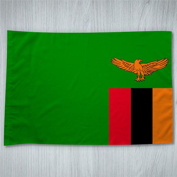 Bandeira Zâmbia ou personalizada 70x100cm comprar em Portugal