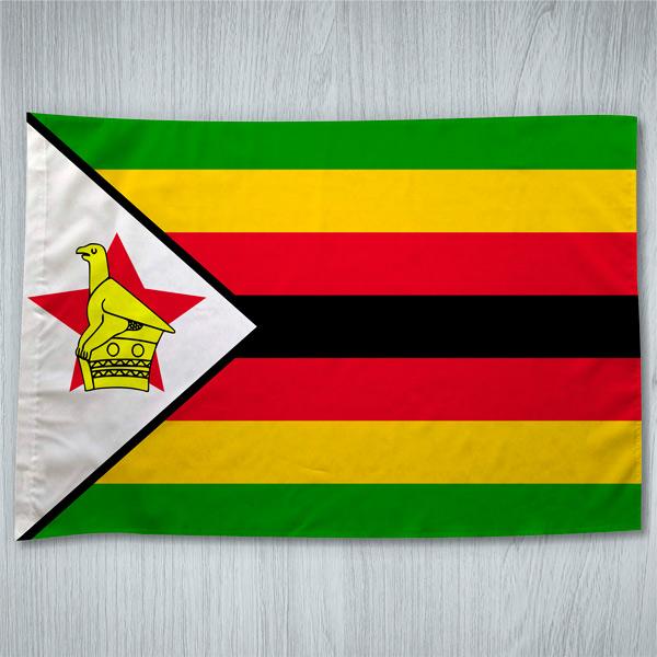 Bandeira Zimbabué ou personalizada 70x100cm comprar em Portugal