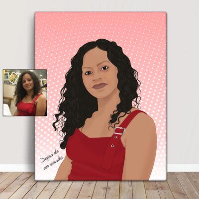 Sua foto em cartoon desenho no quadro ou t-shirt comprar em portugal