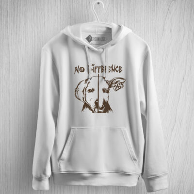 Sweatshirt com capuz No Difference