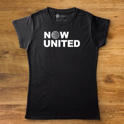 T-shirt Logo Now United para toda a família camisetas