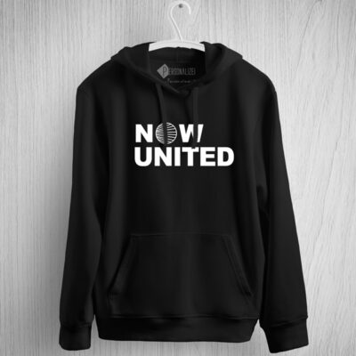 Sweatshirt com capuz Now United Unisex preto