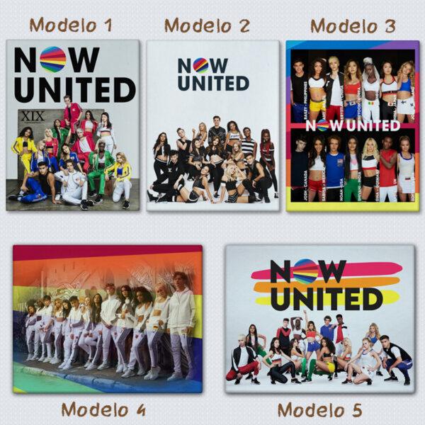 Quadro/Tela Now United Grupo personalizado