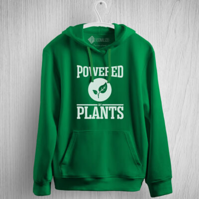 Sweatshirt com capuz Powered By Plants comprar em portugal