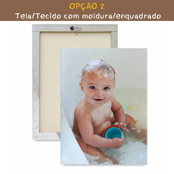 Quadro/Tela personalizado com sua foto do seu filho