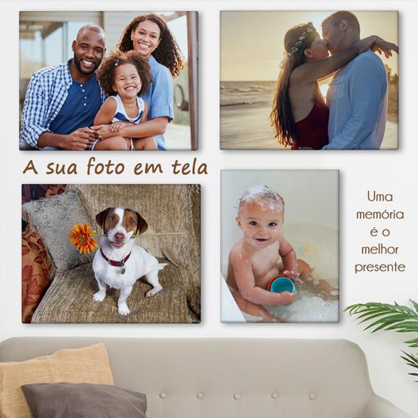 Quadro/Tela personalizado com sua foto imagem