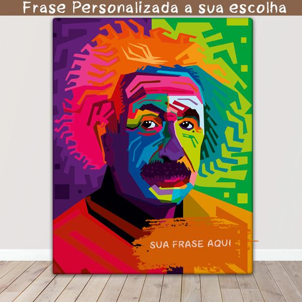 Albert Einstein Quadro/Tela personalizado