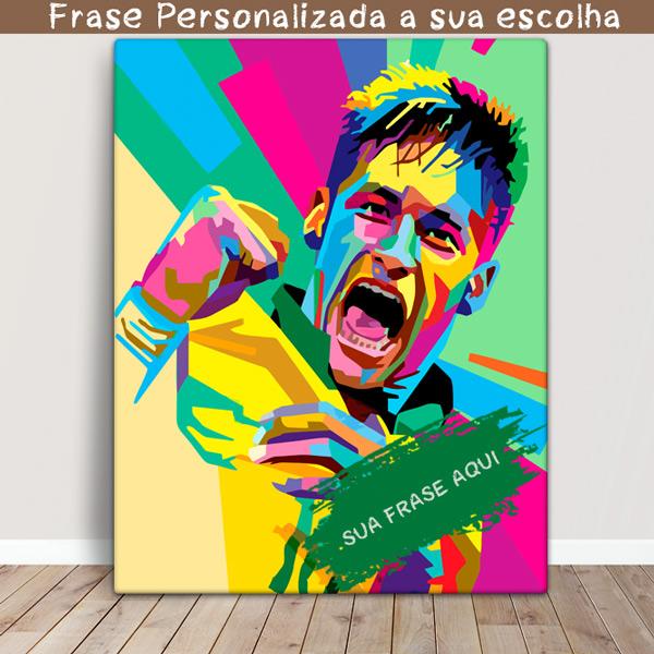 Neymar Jr Quadro/Tela personalizado