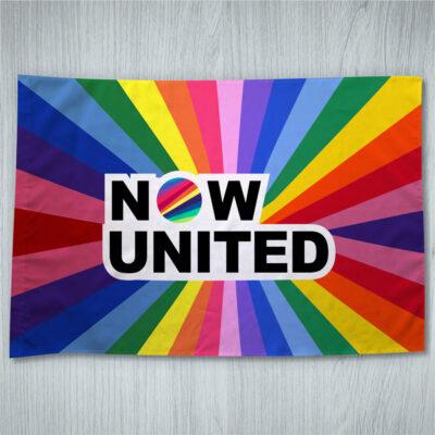 Bandeira Now United ou personalizada 70x100cm comprar em Portugal