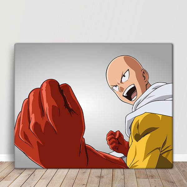 Saitama Quadro/Tela One-Punch Man quadro