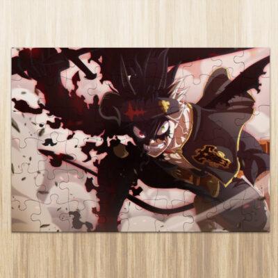 Puzzle Asta Black Clover em madeira ou cartão comprar em Portugal