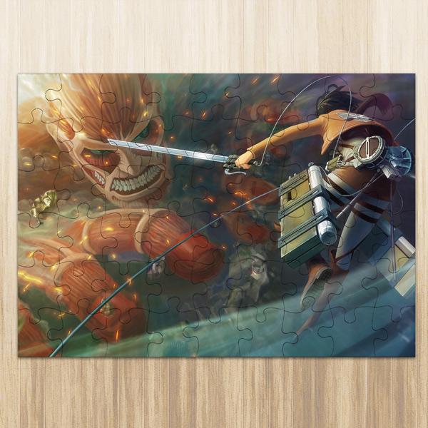 Puzzle Titan Colossal Attack on Titan em madeira ou cartão comprar em Portugal