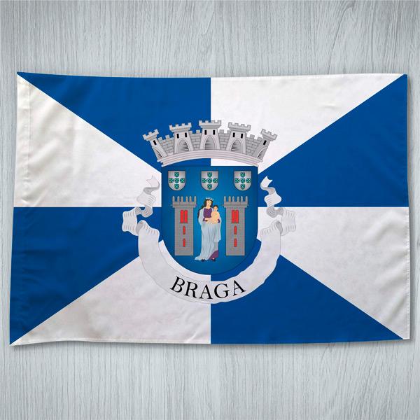 Bandeira Braga Município/Cidade 70x100cm comprar
