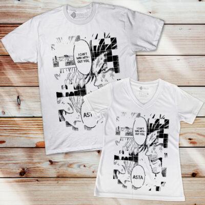 Asta e Yami T-shirt Black Clover comprar em Portugal