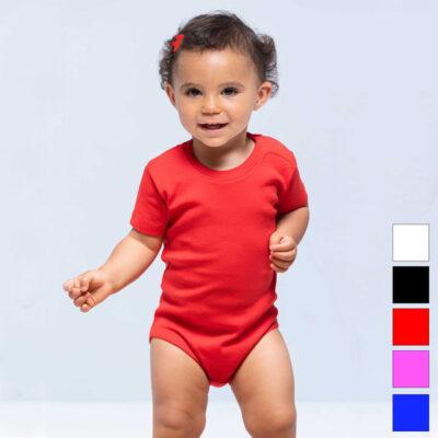 Boby bebé manga curta 100% algodão 170g unisex comprar em Portugal