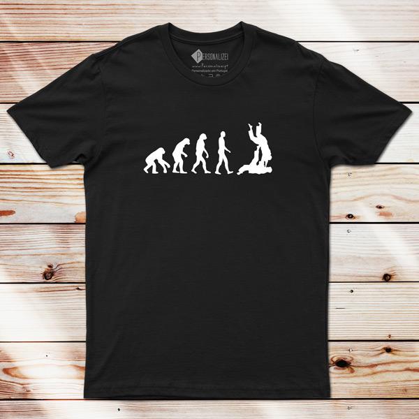T-shirt Evolution Jiu-jitsu comprar em Portugal